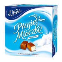 Polish Sweets and Candy Ptasie Mleczko