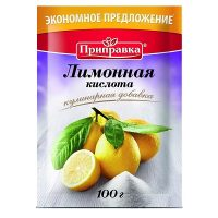 Ukrainian Baking Products Lemon Acid Prypravka