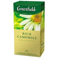 Ukrainian Tea and Coffee Greenfield Rich Camomile