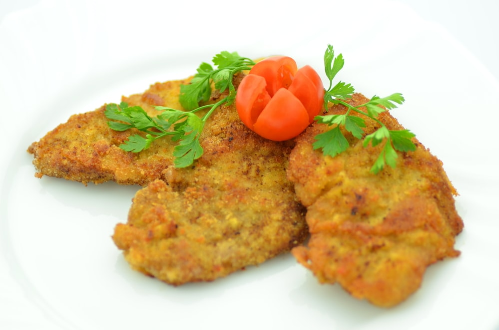 polish breaded pork cutlet