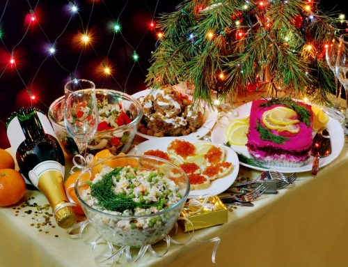 New Year Food In Ukraine